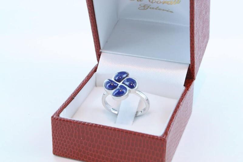 Bague en Lapis Lazuli et argent 925 par 1000 BA-LA-LA-AR-004