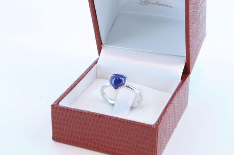 Bague en Lapis Lazuli et argent 925 par 1000 BA-LA-LA-AR-008