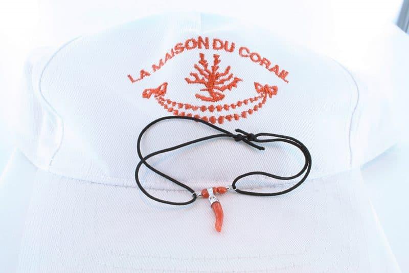 Bracelet corail rouge et argent BR CO AR 1204